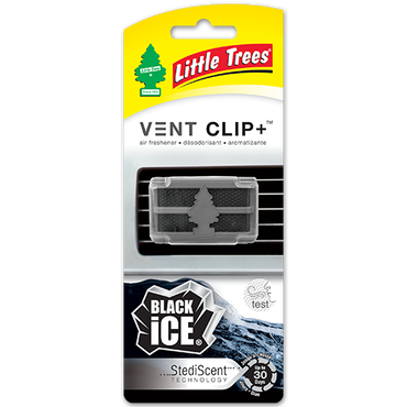 "LITTLE TREES  VENT CLIP "" BLACK ICE """