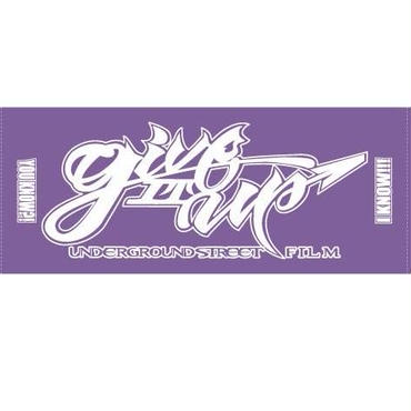 Give IT UP ORIGINAL TOWEL(Purple)