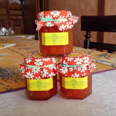 柿のコンフィチュール(島根出雲産)