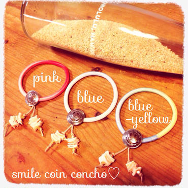 smile coin concho