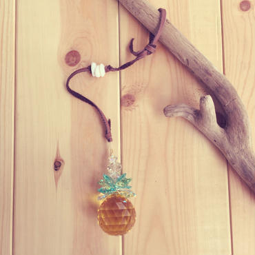 pineapple sun catcher*brown