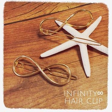 Infinity∞ヘアクリップ