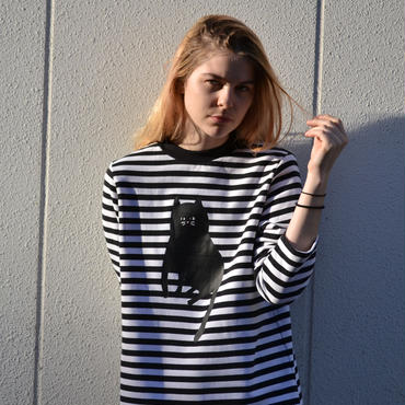 LAZY OAF / STRIPEY CAT DRESS