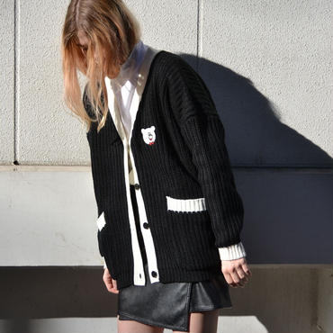 LAZY OAF / MONO COLLEGE CARDIGAN