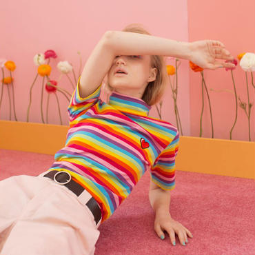 LAZY OAF/RAINBOW TURTLE NECK