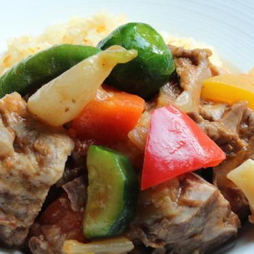 仔羊のプロバンス風煮込み ( Agneau à la provençal  ) / 肉約100g