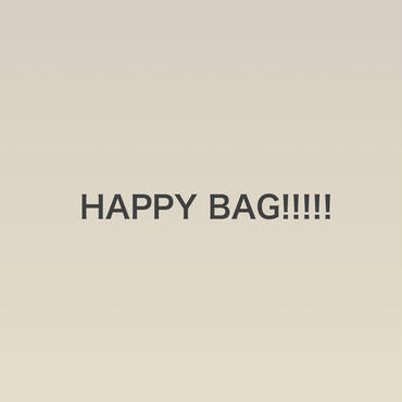 HAPPY BAG!!!!!