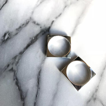 silver925  Square Ring