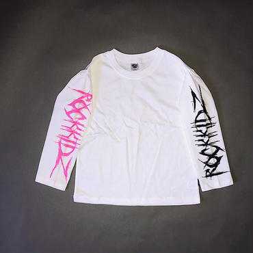 【special price】  サイドペイントロンT/white