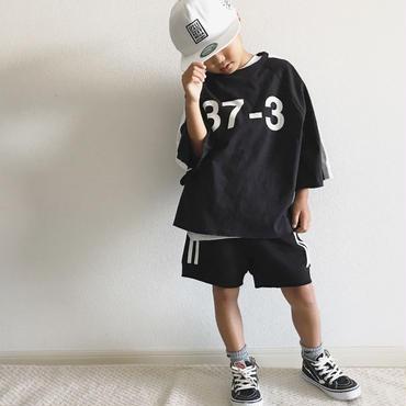 ドルマン風ナンバーTシャツ