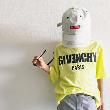ロゴTシャツ/yellow