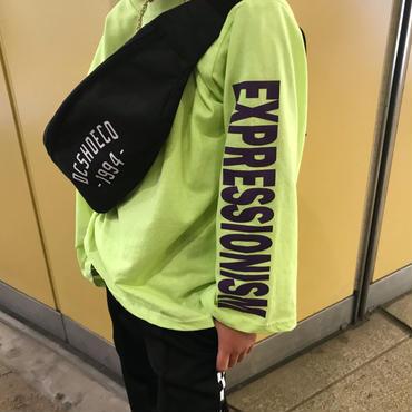 ネオン ロゴtシャツ/neon green