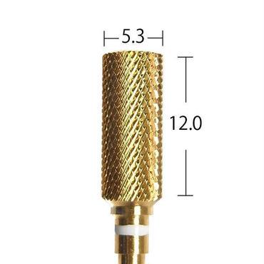 【URAWA C1714G】スモールバレルカーバイドバー(ゴールド) ミディアム