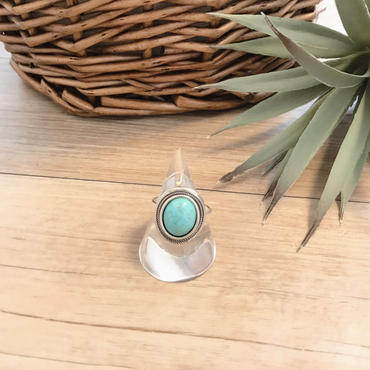 《NEW》silver925 turquoise ring