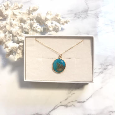 《14kgf》turquoise necklace typeA