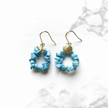 《NEW》turquoise pierce