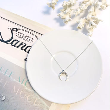 《New》silver925 moon necklace