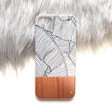 《受注販売:2週間〜3週間待ち》A/W reef×wood スマホケース 〜 iPhone5/SE、iPhone6/6s、iPhone7、iPhone8〜