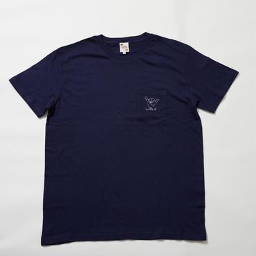 レターズ Tシャツ (ネイビー)