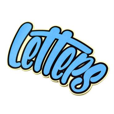 レターズ 「letters」ロゴ ステッカー