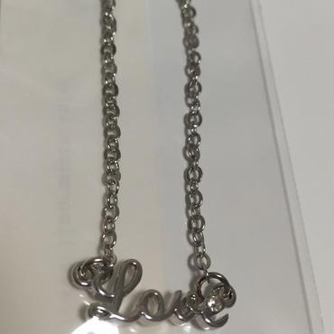フルアルバム「LOVE」発売記念ネックレス「Love」(silver)