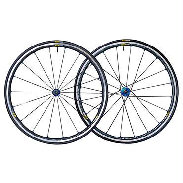 MAVIC 2017 KSYRIUM ELITE BLUE キシリウムエリート 青 シマノ用 タイヤ25C付