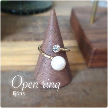 Open ring