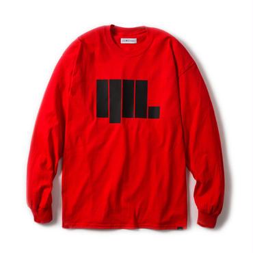 -ANGULAR- L/S TEE (RED)