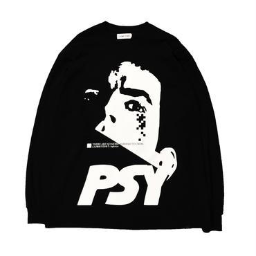 -PSY- L/S TEE (BLK)