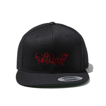 -VAIN- SNAPBACK CAP (BLK×RED)
