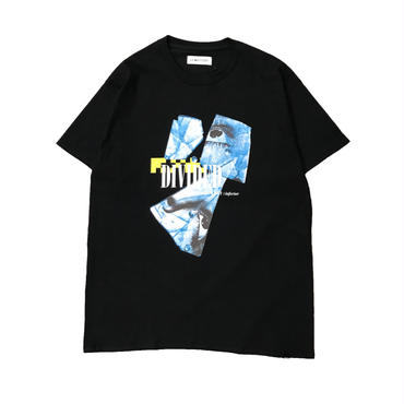 -DIVIDED- TEE (BLK)