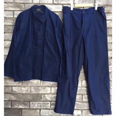 【DEAD STOCK】フレンチワークチャイナジャケット&パンツ