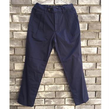 【RICCARDO METHA】2Tuck Sharling  Tapered Trousers リカルド メッサ