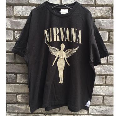 【MUSIC TEE】 NIRVANA ニルヴァーナ  IN UTERO  93's tour