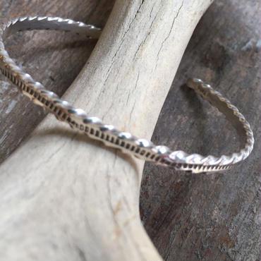 【Navajo】Narrow Wire bracelet