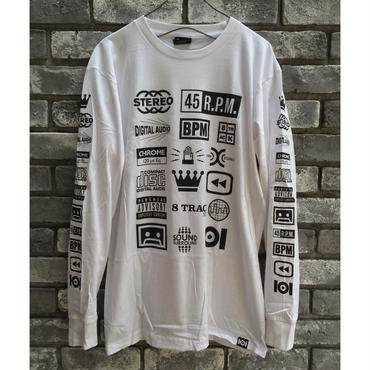 【101】STEREO long sleeve Tee