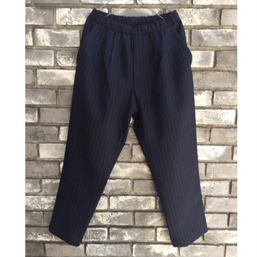 【CESTERS】 2tuck Summer Wool Easy trousers