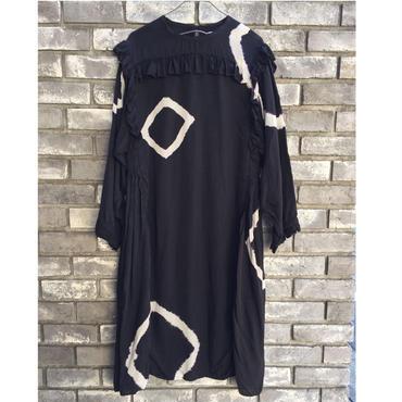 【NOMA t.d.】 Frilled Dress - Tie Dye ノーマ ティーディー フリルドレス タイダイ