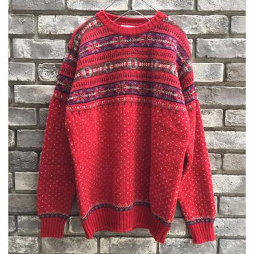 【Jamieson's】Pullover sweater