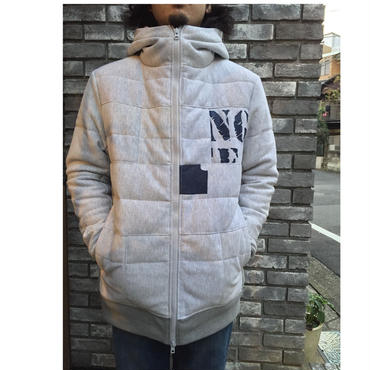 【TALKING ABOUT THE ABSTRACTION】Re-make sweat down jacket