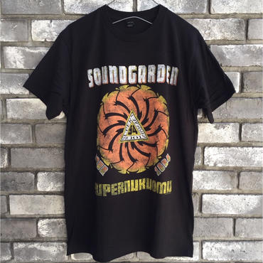 Music Tee 【SOUNDGARDEN】supernukuomu  サウンドガーデン