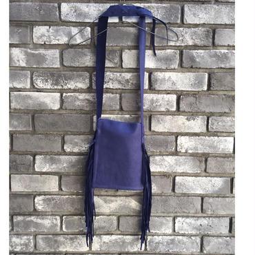 期間限定【E.V.T】Sonoma Deerskin Bag side fringe
