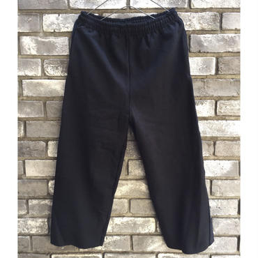 【burself】velour SIDE LINEED sweat pant