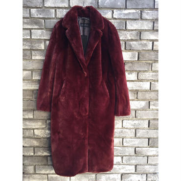 【OAKWOOD】 fur long coat