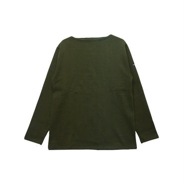 SAINT JAMES(セントジェームス)OUESSANT SOLID(無地)正規取扱品 TOURBE(モスグリーン)
