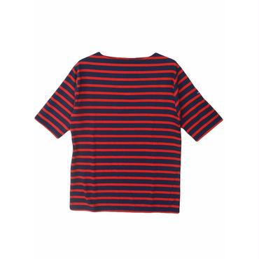 SAINT JAMES(セントジェームス)PIRIAC BORDER(ボーダー)MARINE/TULIPE 半袖Tシャツ【正規取扱品】UNISEX