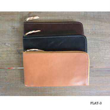 MARINEDAY FLAT-3 LEATHER WALLET