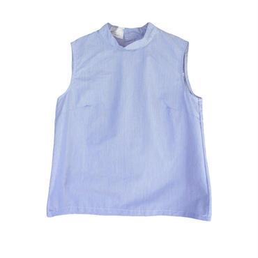 MANUAL ALPHABET スイスコットンノースリーブハイネックシャツ TNE-SH-030