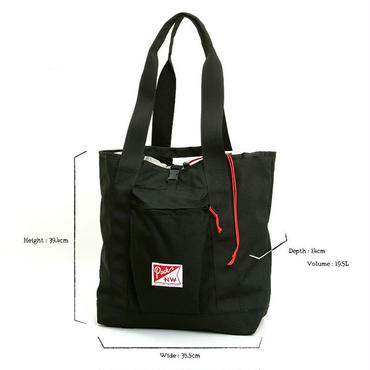 Pack Northwest Hobo Tote Large3WAY BAG RAVEN(BLACK)