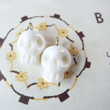 Small Skull  (col.エクリュ)